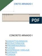 CONCRETO ARMADO -  SIN SISMO.ppt