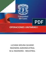operaciones uniarias