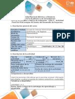Guía de actividades y rúbrica de evaluación - Paso 5 - Actividad Final Por POA Integrar SI Dentro del Desarrollo de Proyectos.docx