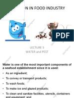 food sanitation in industry
