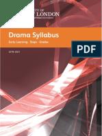 UWL LCM Drama Grades Syllabus