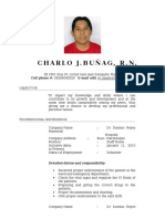 Bunag, Charlo