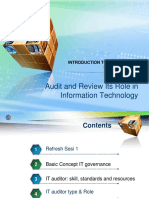 Audit and Review Its Role in Information Technology