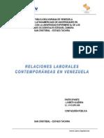 Relaciones Laborales en Venezuela