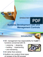 Systems Development (SD) and Management Controls