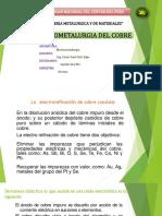 Electrorefinacion Del Cobre