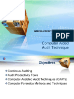 Computer Aided Audit Technique