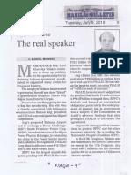 Manila Bulletin, July 9, 2019, The real speaker.pdf