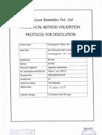 Dissolution Sheet