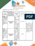 Matriz Resumen Y Diagrama Causa Efecto LudisBarros