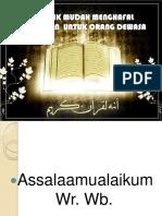 cara mudah menghafal al-quran
