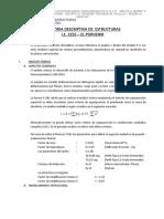 2.1 MEMORIA  DESCRIPTIVA ESTRUCTURAS  PROYECTO 6B.001.doc