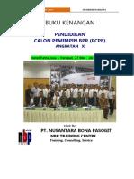 Buku Kenangan Pcpb XI