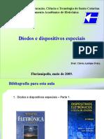 Apostila - Diodos e Dispositivos Especiais - 2009