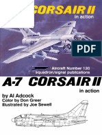 Squadron Signal - Aircraft - In Action - 1120 - Vought A7 Corsair II