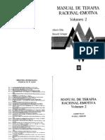 LIBRRO Manual de terapia racional-emotiva (Vol. II), Albert Ellis y Russel Grieger.pdf