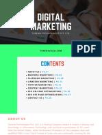 Proposal for Digital Marketing by Torenia Technologies Pvt. Ltd.