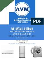 We Install & Repair
