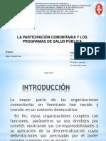 Consejos Comunales y participación comunitaria
