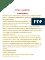 SINTEZA DOCUMENTARA  PRIVIND NORME GDPR.doc