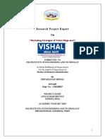 Project on Vishal