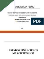 Marco Teorico Estados Financieros Exposicion
