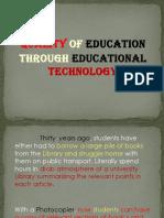 Educ 6 - Report