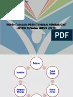 PERENCANAAN PERHITUNGAN PEMBANGKIT LISTRIK TENAGA SURYA (PLTS).pptx