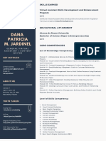 Virtual Assistant Dana Patricia Jardinel Resume