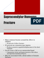 Supracondylar Humerus Fracture
