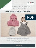 oportunidades en la exportación de prendas para bebés.pdf