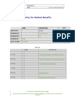 Medical Benefits Policy (1)