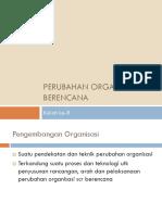 8 Perubahan Organisasi Berencana.ppt