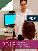Memoria de la Red Menni de Daño Cerebral de Hermanas Hospitalarias 2018