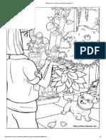 Dibujos para colorear de Barbie Pulgarcita.pdf