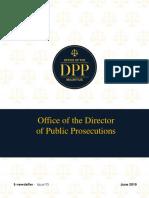 Le DPP aborde le suicide assisté dans sa Newsletter
