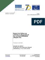 Raport de Follow Up La Raportul Ad Hoc Privind Romania