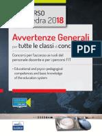 Le avvertenze generali della scuola italiana