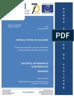 Raport Interimar de Conformitate Runda IV de Evaluare Privind Romania