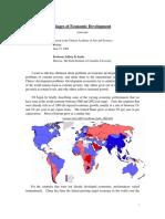 Phases of Economic Development