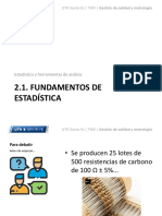 2.1. Fundamentos de Estadística