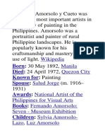 Fernando Amorsolo y Cueto Was One of the Most Important Artists in the History of Painting in the Philippines