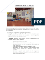ACTIVIDADES-RUTINAS DIARIAS Aula 2-3