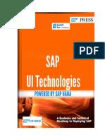 SAP UI Technologies for S4 HANA