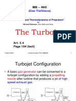 Turbojet Engine