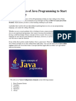 Learn 7 Basics of Java Programming to Start Coding Today