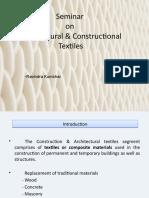 Architectural & Constructional Textiles