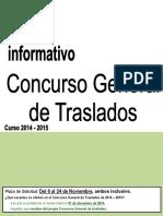 Boletín Informativo CGT 2014-15