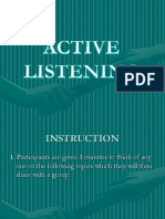 Active Listening ppt