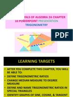 Math 4a Chapter 10 Powerpoint Presentation